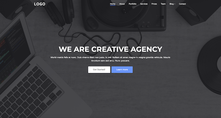 Creative Agency - Free Business Template