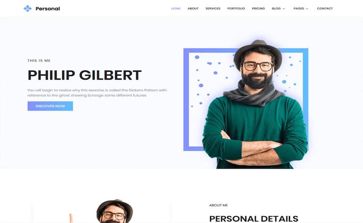 Personal - Free Portfolio Template